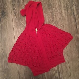 Little Red poncho